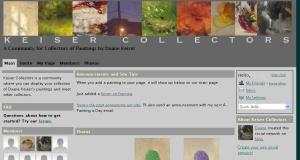 Keiser Collector Website