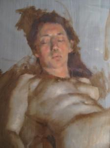 Female Figure Study by Robert Liberace