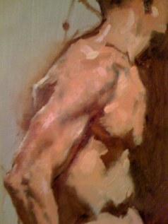 Untitled, Male Torso Study