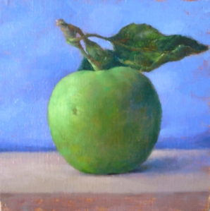 Flying Apple by Michelle Tully