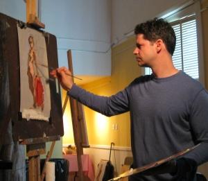 Robert Liberace at Work