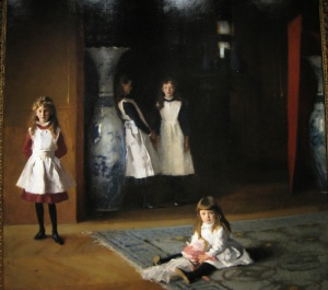 Daughters of Edward Darley Boit by John Singer Sargent, 1883, Museum of Fine Art Boston