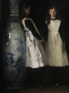 Detail of Daughters of Edward Darley Boit