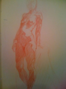 Standing Female Day 3 Sketch