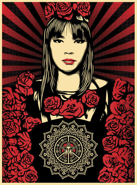 Rose Girl Limited Edition Print, Irvine Contemporary Gallery