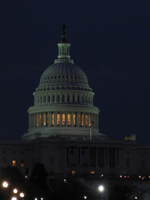 Captiol Dome at Night