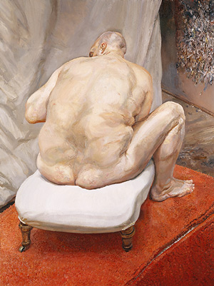 Lucian Freud, Naked Man, Back View