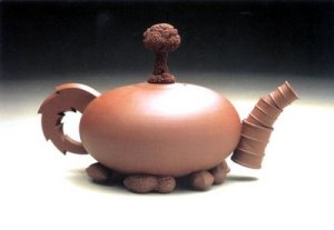 Teapot by Richard Notkin