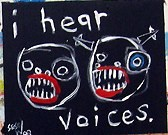 I Hear Voices, by Matt Sesow