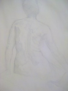 The First Silverpoint Attempt.