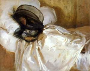 The Mosquito Net, courtesy of the John Singer Sargent Gallery